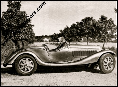 Added a vintage photograph of the 1927 Bugatti Typ 43 Spyder Zagato