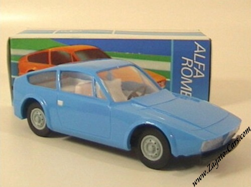 Alfa Romeo Junior Zagato Models By Anker - Alfa romeo scale models