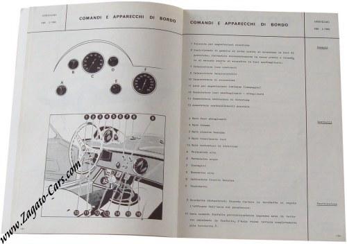 for sale original 1963 giulia tz owners manual