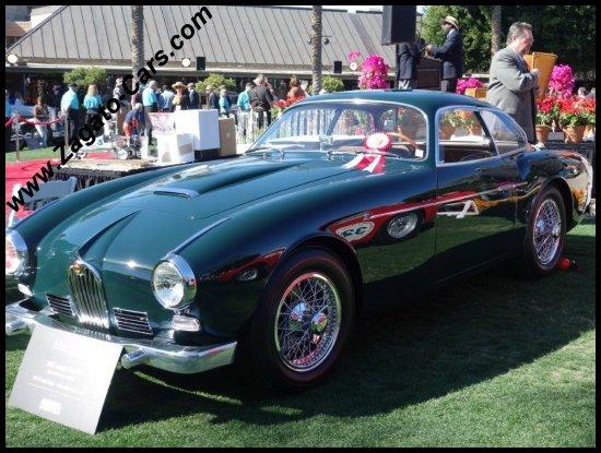 1957 jaguar xk 140 z zagato