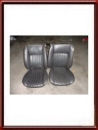 1 set of genuine Alfa Romeo Junior Zagato seats black