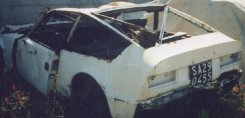 Unknown Alfa Romeo Junior Zagato Wreck for sale in Italy