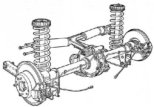 Rear suspension (55775 bytes)