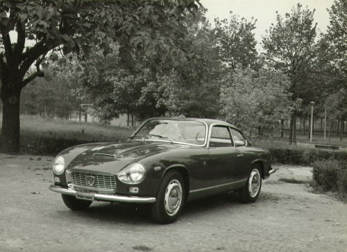 Vintage 1964 Lancia Flaminia Supersport Zagato 2.8 Press Photo